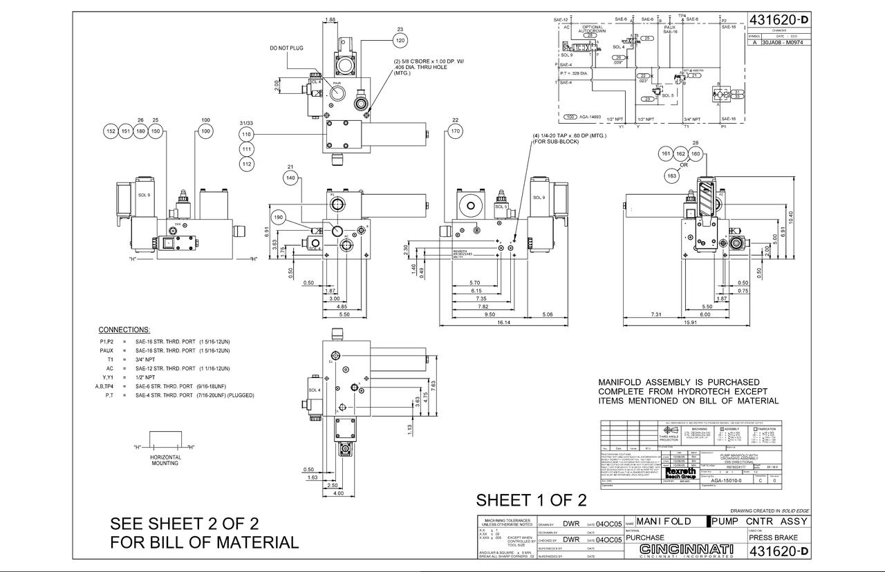 Maxform Oil Filter (441052)