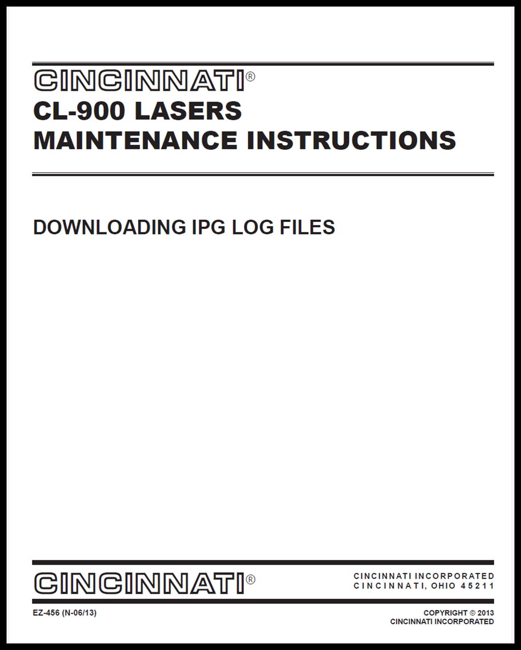 EZ-456 (N 0513) Downloading IPG Log Files via LaserNet