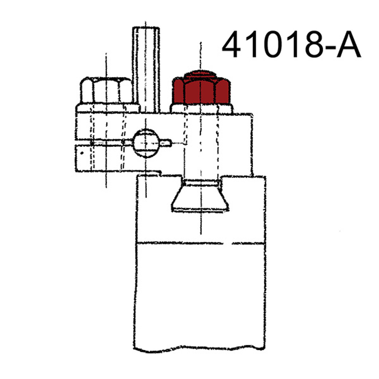 Nut HV Hex  .625-11  .60 (41018)