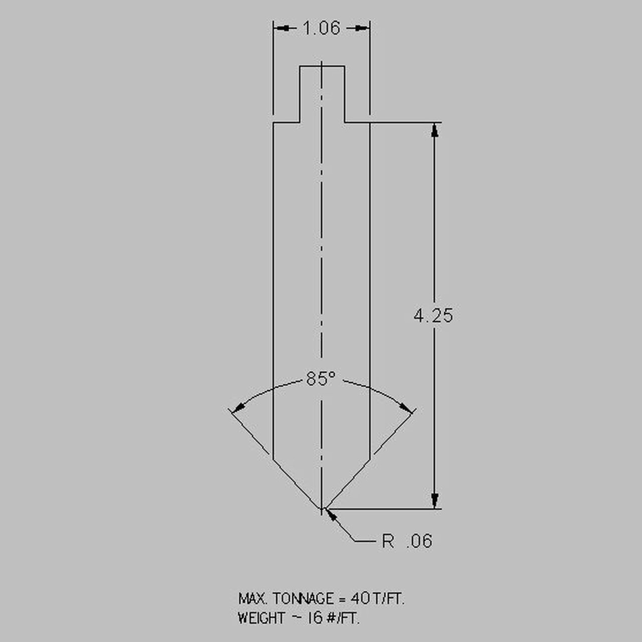 Cincinnati American Tooling S6D04