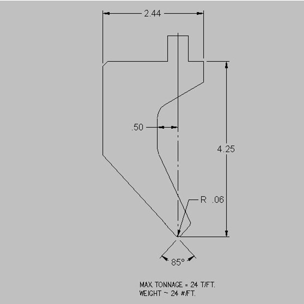 Cincinnati American Tooling S8C4A