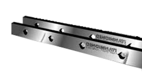 "Cincinnati Shear Knives - 124"" Length, 4"" x 1"" Cross Section (239216) Type C"