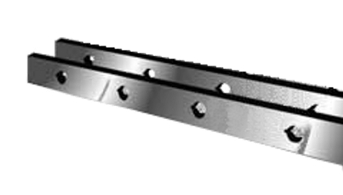 "Standard Industrial Shear Knives - 148"" Length, 4"" x 1"" Cross Section (239128) Type B"