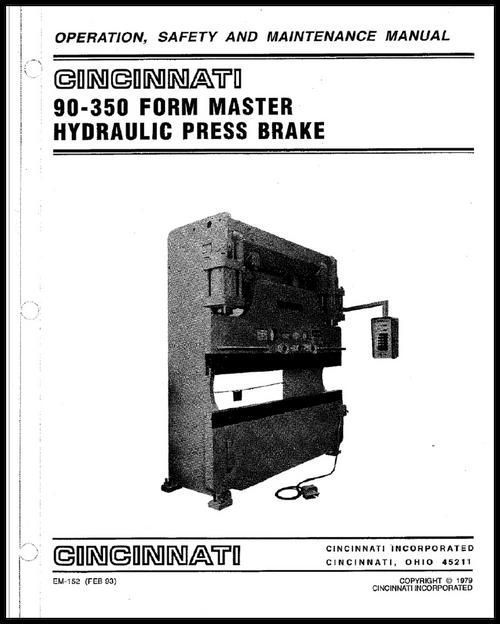 EM-152 (FEB 93) Operation Manual 90-350 FM