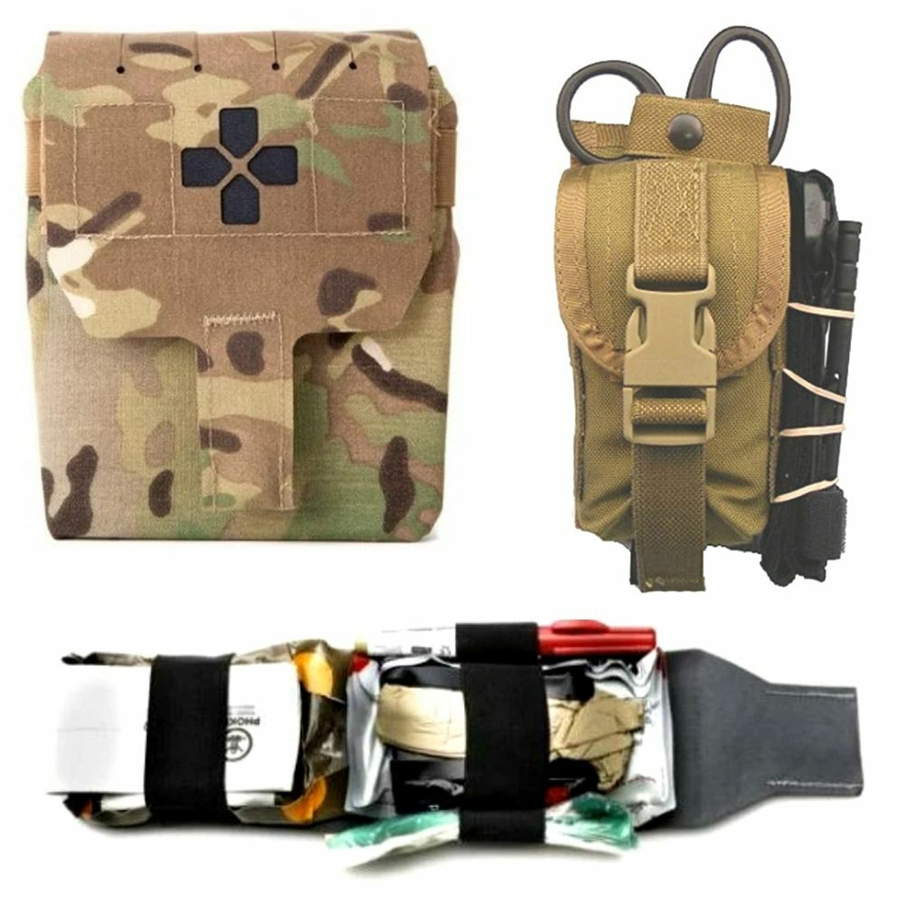 Tactical Gear Medical IFAK  Pouches