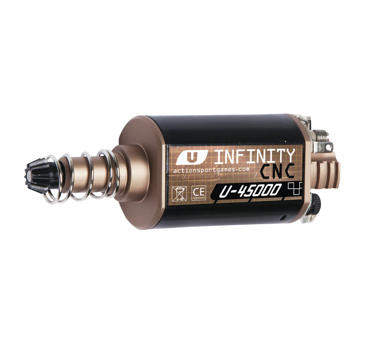 Upgraded Airsoft Motors for Electric Airsoft Guns