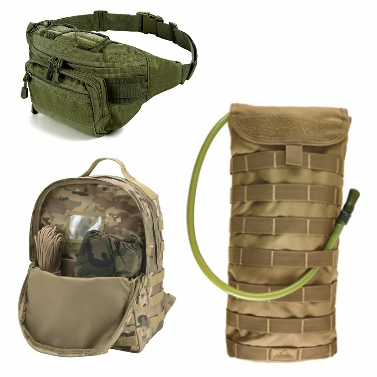 Airsoft Backpacks & Hydration Packs