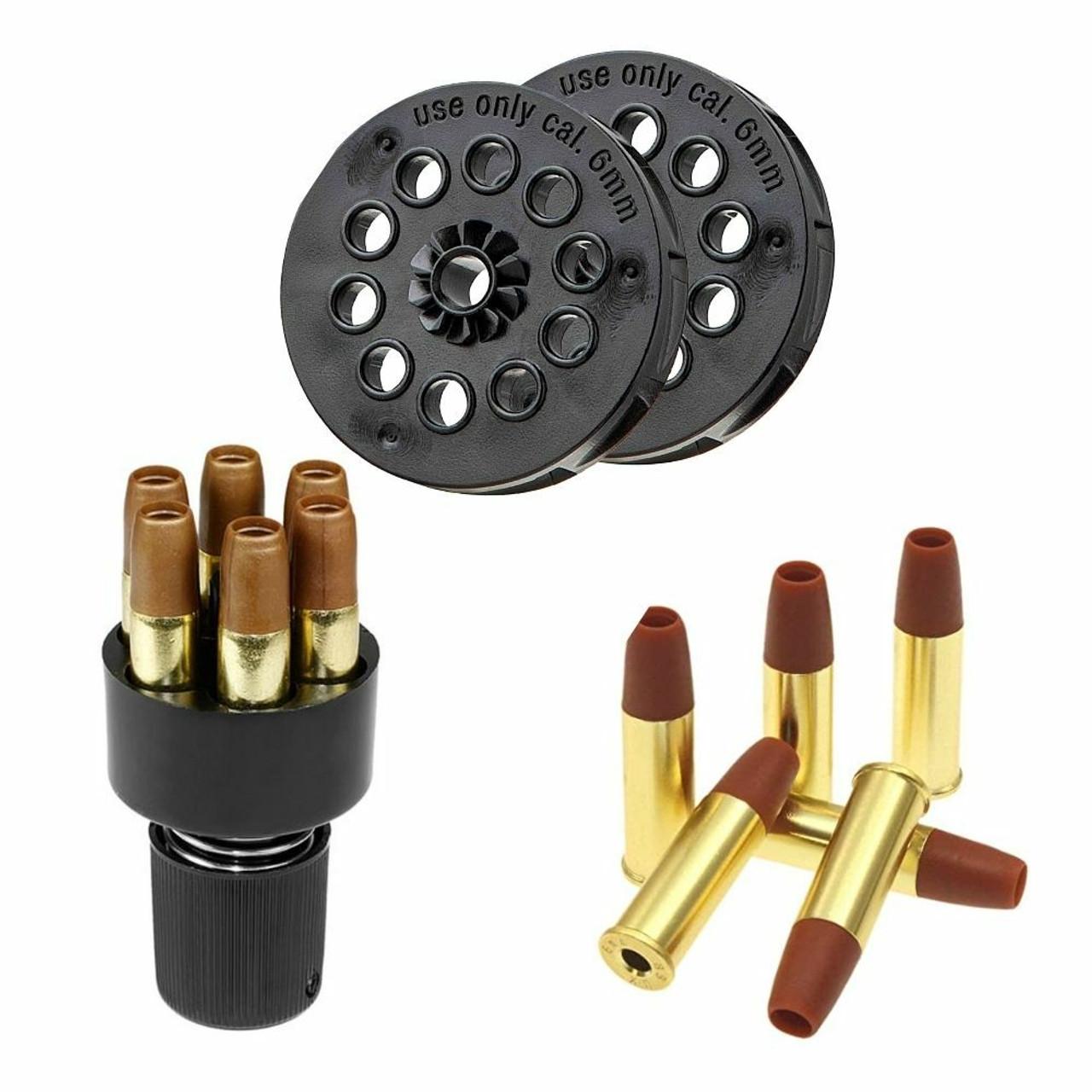 Airsoft Revolver shells & Clips