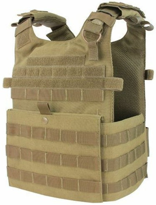 Condor Gunner Plate Carrier - Tan