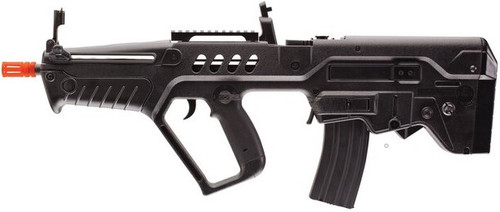 The Tavor 21 Competition Series is a bullpup rifle, giving you a longer barrel while keeping maneuverability.