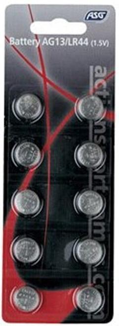 ASG AG13/LR44 Battery 10-pack