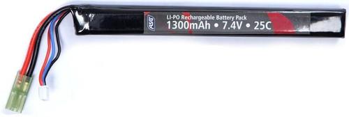 ASG 7.4v 1300mah Stick Lipo Airsoft Battery