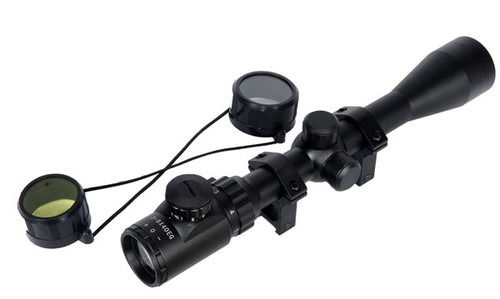 Lancer Tactical 3-9x40 Illuminated Scope