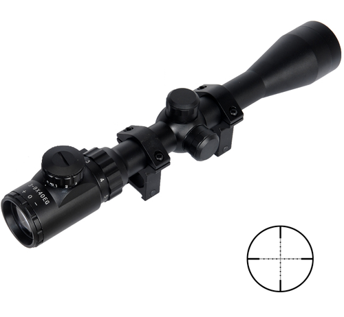 lancer-tactical-CA-406B-3-9-x-40-mil-dot-reticle-airsoft-sniper-scope