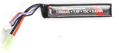 ASG 7.4v Buffer Tube Lipo Airsoft Battery