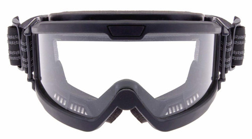Rothco OTG Goggles for Glasses - Black - Clear
