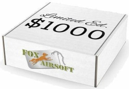 Super Limited Fox Airsoft $1000 Mystery Box