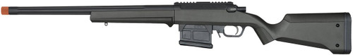 Ares Amoeba AS-01 Striker Sniper Rifle Left Side View In Black