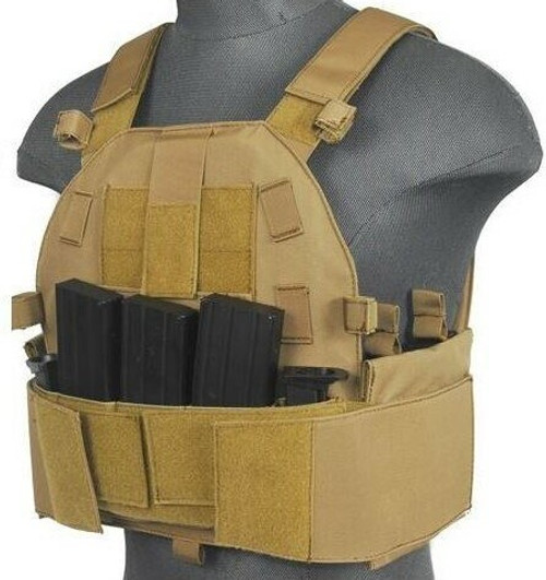 Lancer Tactical Slick Plate Carrier