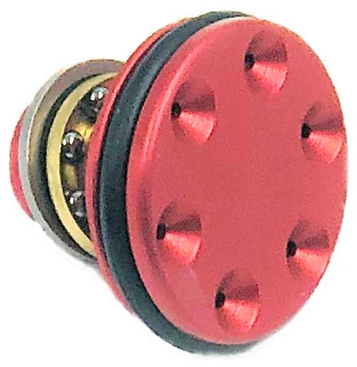 CNC Production Bearing Ported Piston Head Single O-Ring