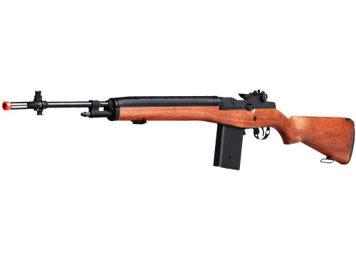 Echo1 M14 Rifle Wood Airsoft Gun