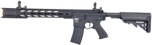 Lancer Tactical M4 Interceptor SPR Gen 2 Metal Body Airsoft Gun Black