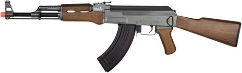 Lancer Tactical Faux Wood AK-47 Airsoft Gun