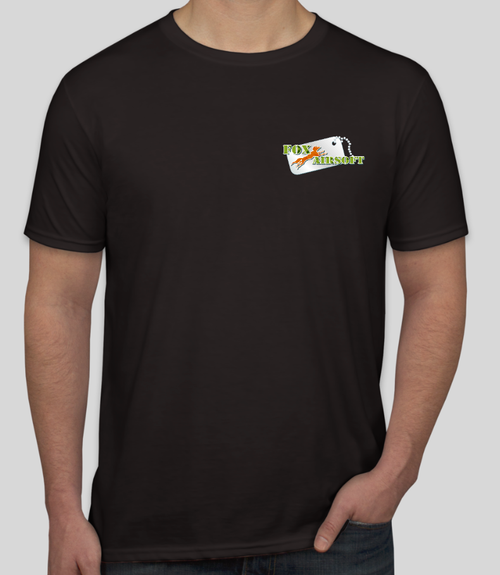 Fox Airsoft T-Shirt Front
