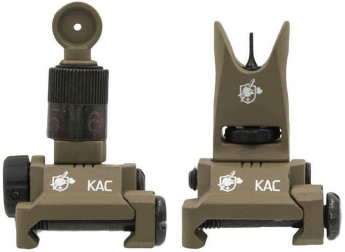 Knights Armament Licensed Airsoft BUIS Micro Iron Sight Set