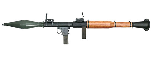 Arrow Dynamics RPG-7 40mm Airsoft Grenade Launcher Left Side