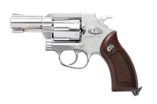G&G G731 CO2 Airsoft Revolver Silver