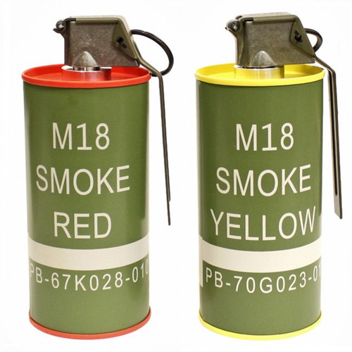G&G M18 Dummy Smoke Grenade Set