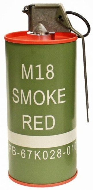 G&G M18 Dummy Smoke Grenade - Red