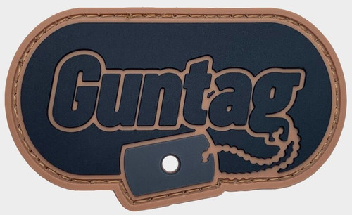 Guntag  Airsoft Patch Mount