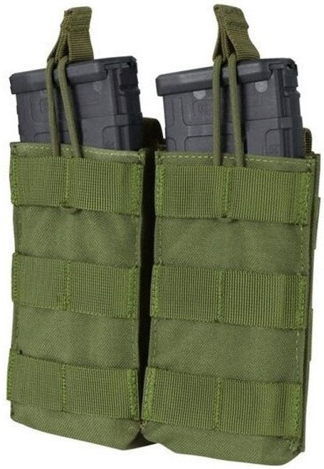 Condor Double Open-Top M4 Pouch OD