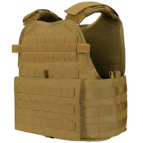 Condor Operator Plate Carrier Tan