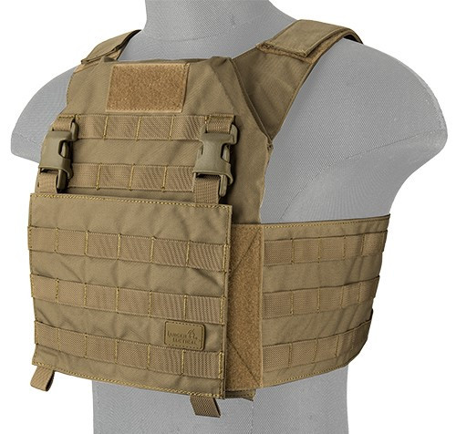 LANCER TACTICAL ADAPTIVE RECON TACTICAL VEST TAN
