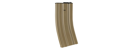 Lancer Tactical Metal M4 Midcap Magazine Tan