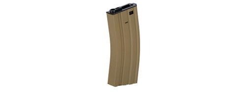Lancer Tactical Metal M4 High Cap Magazine Tan
