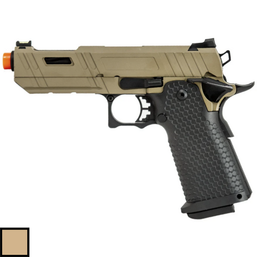 JAG Arms GMX-3.0 Hi-Capa Tan - Left Side View swatch thumbnail