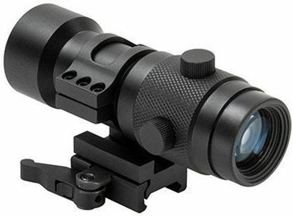 NC Star 3x Magnifier is a great way to have long range targeting with a red dot sight