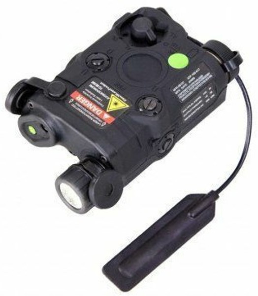 PEQ 15 Laser and Light by Bravo Airsoft in Black
