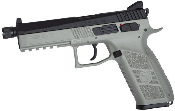 ASG CZ P-09 CO2 Urban Grey Airsoft Pistol