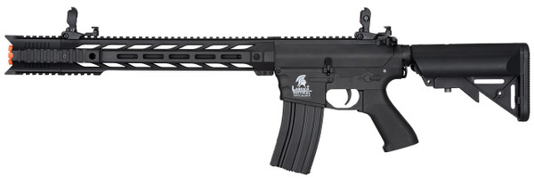 Lancer Tactical M4 Interceptor SPR Gen 2 Airsoft Gun Black