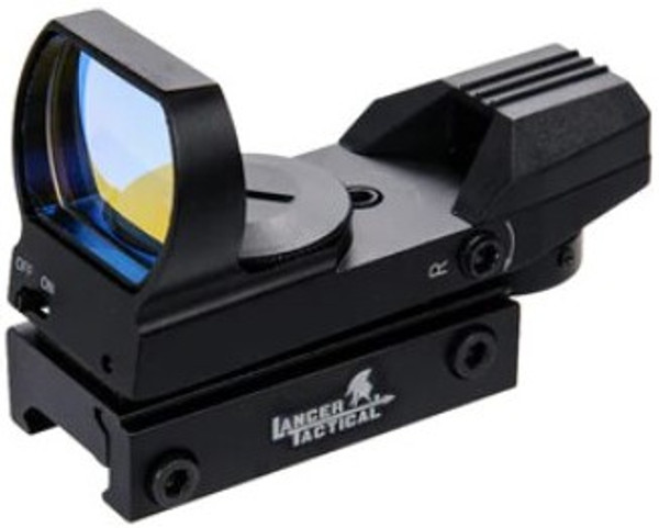 Lancer Tactical 4 Reticle Airsoft Reflex Sight