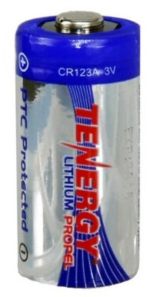 Tenergy CR123A 3v Airsoft Battery