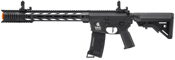 Lancer Tactical M4 Interceptor Gen 3 Airsoft Gun Black Left Side