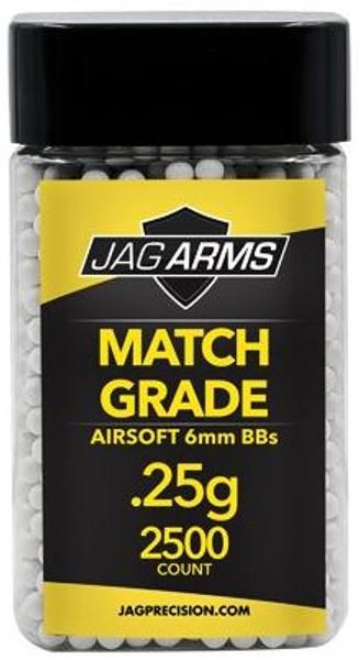 JAG Arms Match Grade Airsoft BBs 0.25g