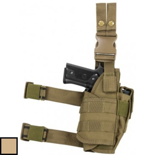 NcSTAR Drop Leg Holster Tactical with Mag Pouch