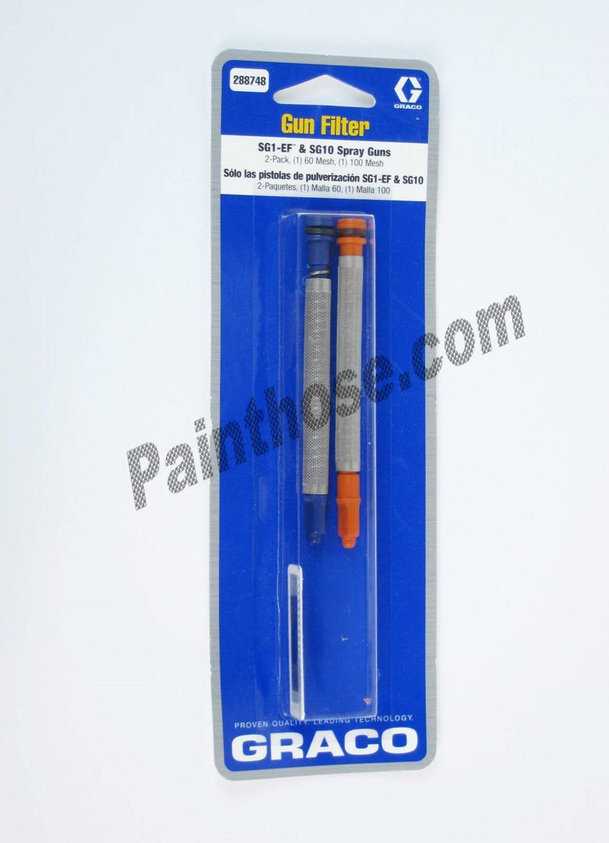 Graco 288748 288-748 244514 Gun Filter 2pack OEM